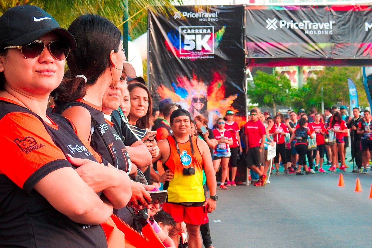 """Se realizará la 7ma edición de la carrera de 5 kilómetros """"Equipemos a los héroes"""" el domingo 24 de febrero en Cancún"""