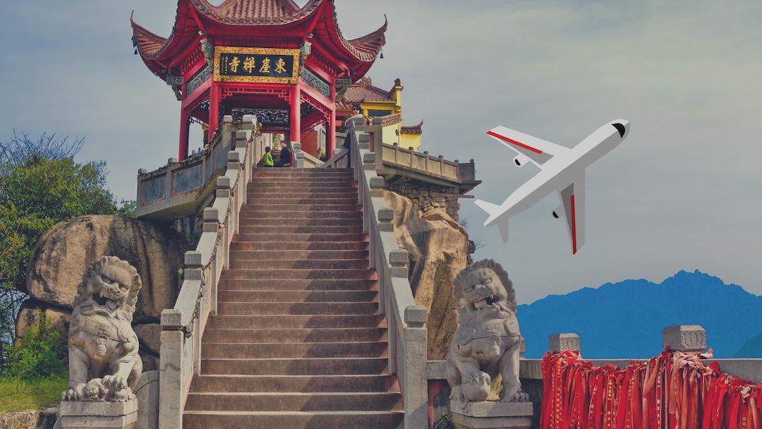 Cómo comprar vuelos baratos a China