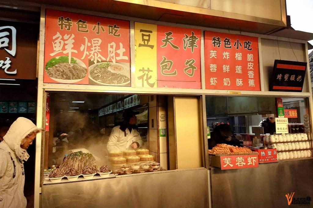 Wangfujing Snack Street Stand
