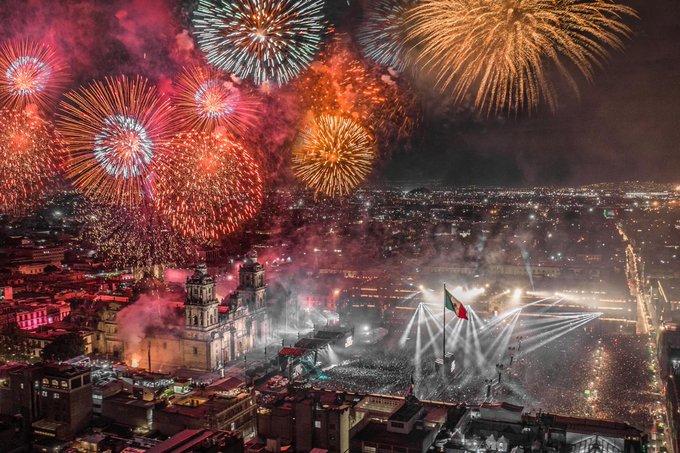 """Celebración de """"El Grito"""" 2019 en distintas ciudades"""