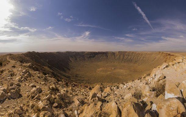 Meteor Crater, Arizona, ¡Una de las 7 maravillas del 2020!