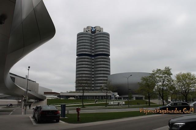 El BMW Welt en Munich Alemania